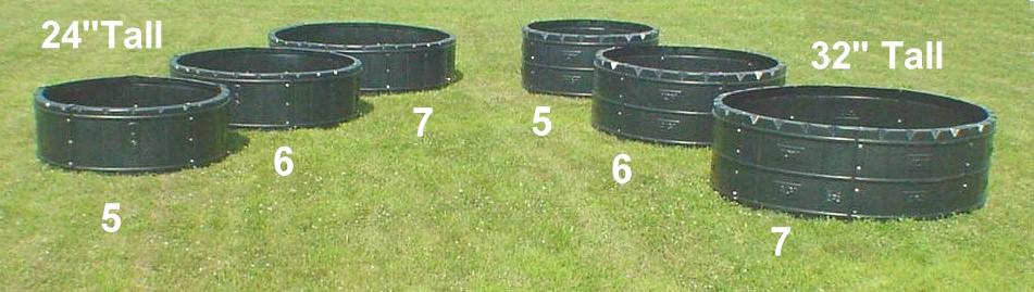 Plastic Hay Ring Feeders